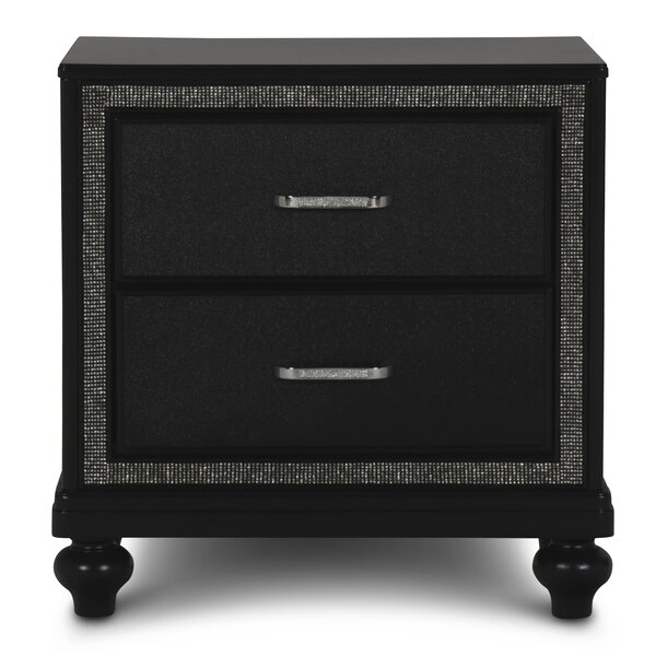 Findley 2 Drawers Nightstand by House of Hampton