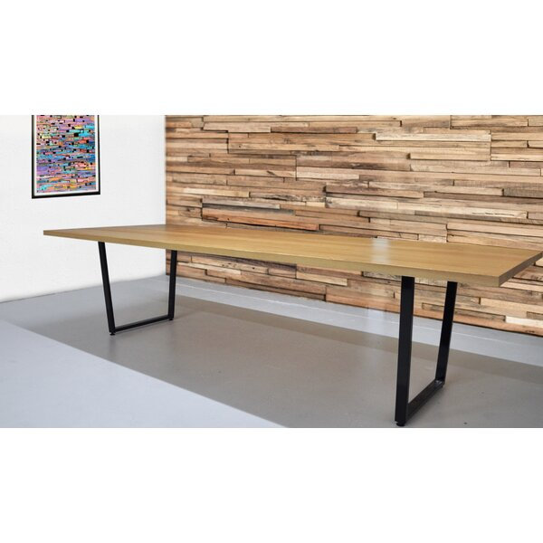 Radner Solid Natural Wood Rectangular Conference Table by Brayden Studio