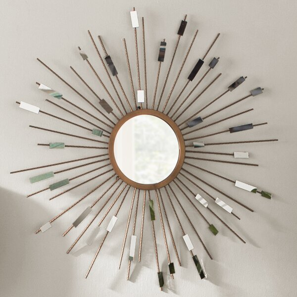 Orion Starburst Wall Mirror by Langley Street