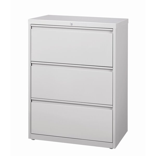 Kissena 3 Drawer Lateral Filing Cabinet by Symple Stuff