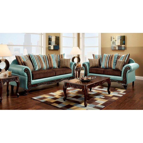 Bridgecliff 2 Piece Living Room Set by Astoria Grand