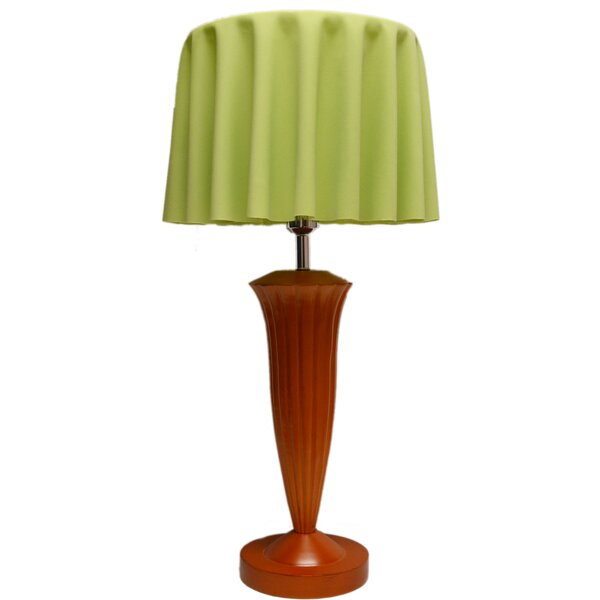 Veatch Fabric 29 Table Lamp by Latitude Run