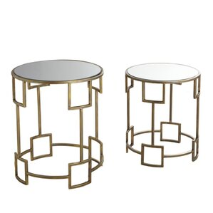 Claybrooks 2 Piece Nesting Tables by Willa Arlo Interiors