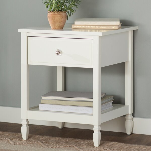 Ulus 1 Drawer Nightstand by Mistana