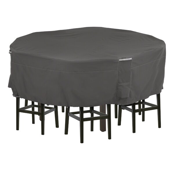 Tall Round Patio Dining Set Cover by Freeport Park