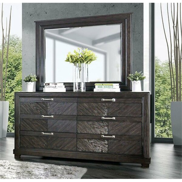 Kachazor 6 Drawer Dresser by Latitude Run