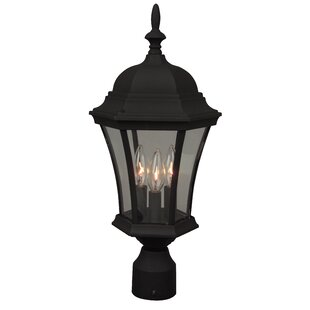 Price Check Oakhill Outdoor 3-Light Lantern Head By Charlton Home