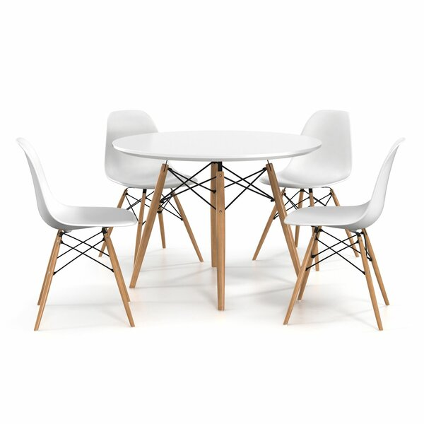 Blake 5 Piece Dining Set by Hashtag Home