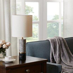 Black Marble Table Lamp | Wayfair
