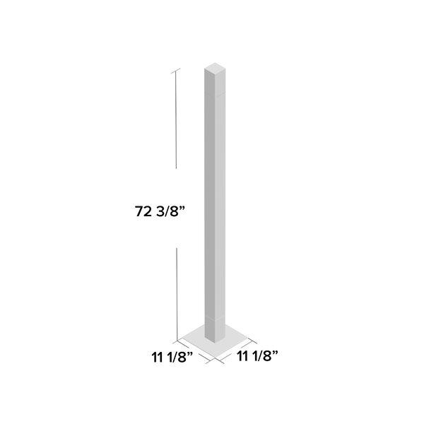 Artemide Mimesi 77 Led Column Floor Lamp Wayfair