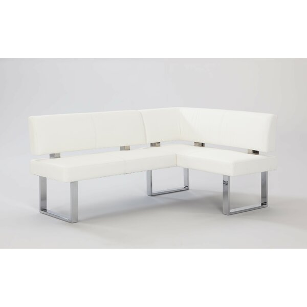 Broderick Upholstered Faux Leather Bench