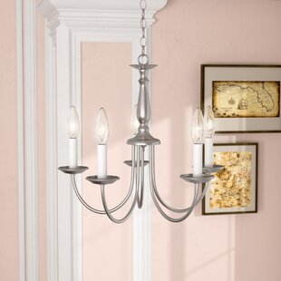 Compare prices Bibbins 5-Light Chandelier By Charlton Home