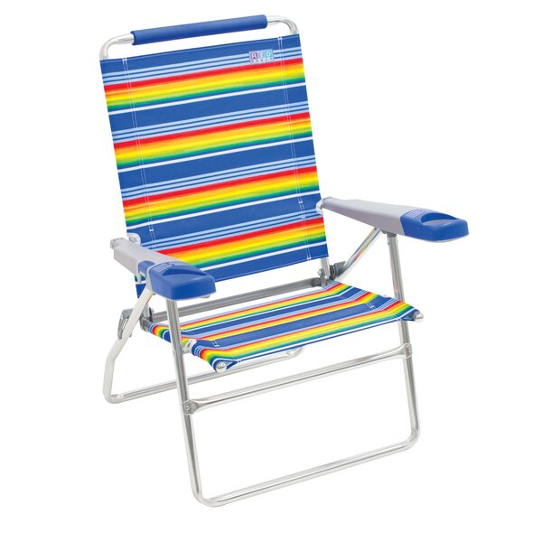 Boylston 4-Position Reclining Beach Chair by Freeport Park Freeport Park