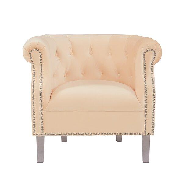 Jeon Velvet Armchair by Charlton Home