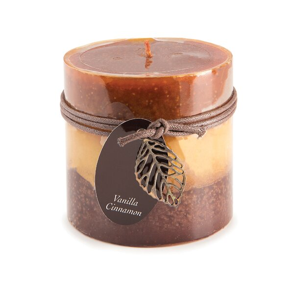Cinnamon Vanilla Scented Votive Candle by Charlton Home