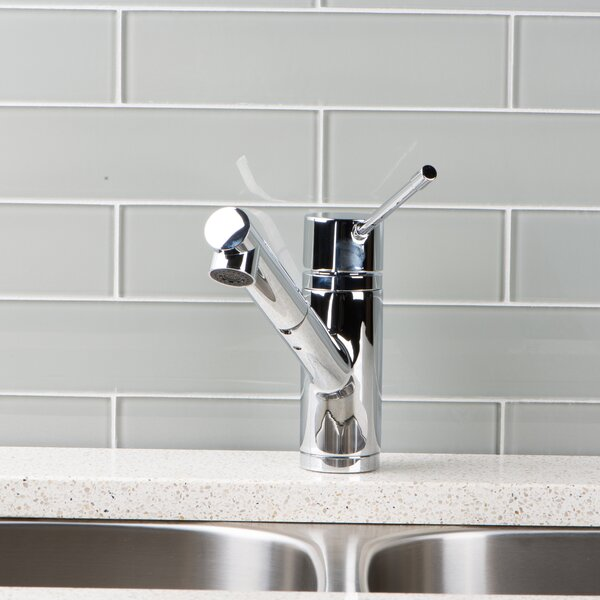 Pull Out Single Handle Kitchen Faucet by Hahn