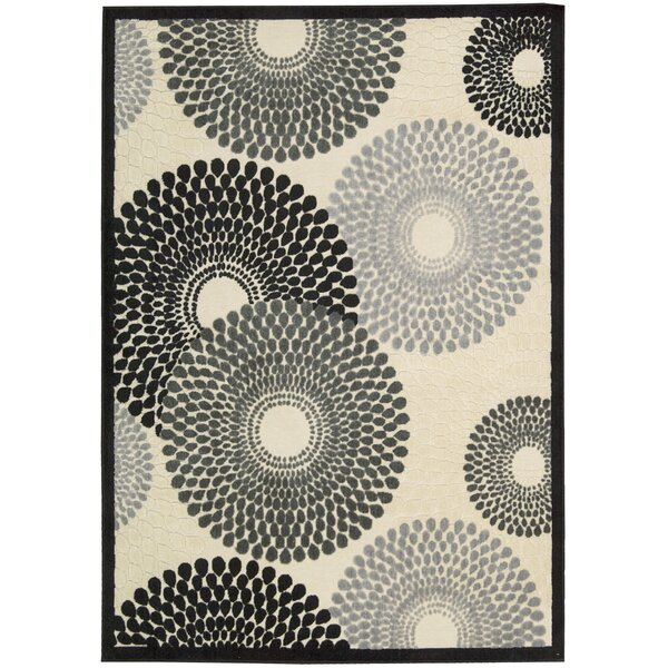 Brookview Parchment Geometric Area Rug by Wade Logan