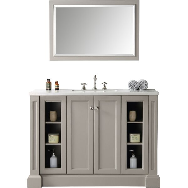 Alexandrine 48 Single Bathroom Vanity Set by Gracie Oaks