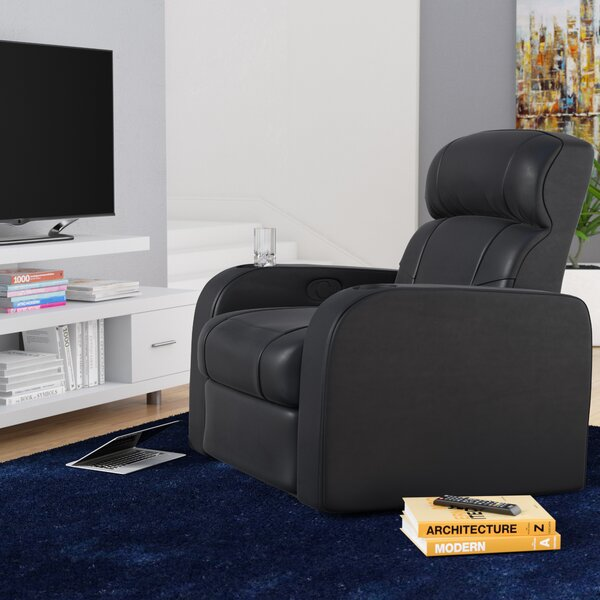 Home Theater Single Recliner Individual Seating By Latitude Run