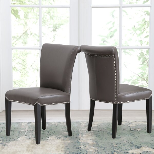 Suzanne  Upholstered Dining Chair (Set of 2) by Darby Home Co Darby Home Co