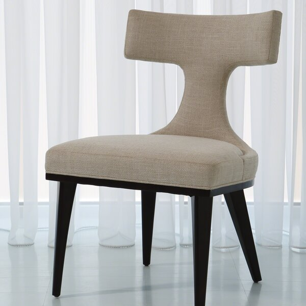 Anvil Back Woven Side Chair By Global Views
