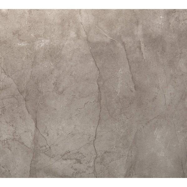 Citadel 24 x 24 Porcelain Metal Look Field Tile in Gray by Emser Tile