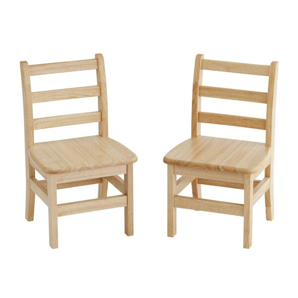 Preschool Solid Wood Classroom Chair (Set of 2) by Offex