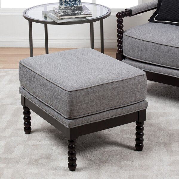 Bolick Square Ottoman by Darby Home Co