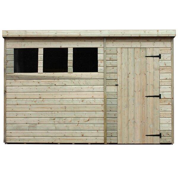 empire sheds ltd 10 x 5 wooden garden shed reviews wayfaircouk