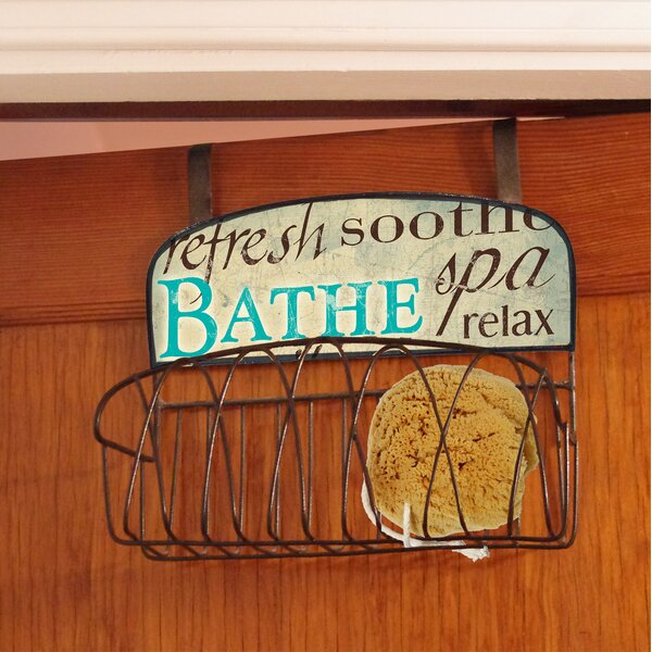 Bathe Over the Door Organizer by Stupell Industries