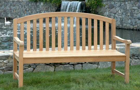 Teak Jayden Garden Bench by Gracie Oaks