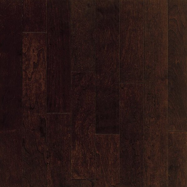 Turlington 5 Engineered Cherry Hardwood Flooring in Toasted Sesame by Bruce Flooring