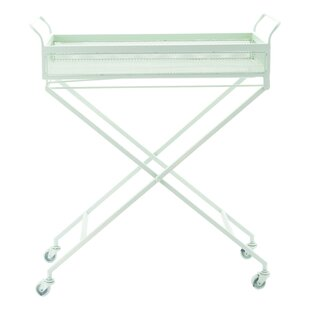 Sarver Mint Bar Cart