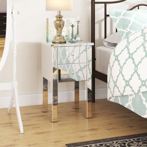 Patio Furniture Dalveen Mirror End Table