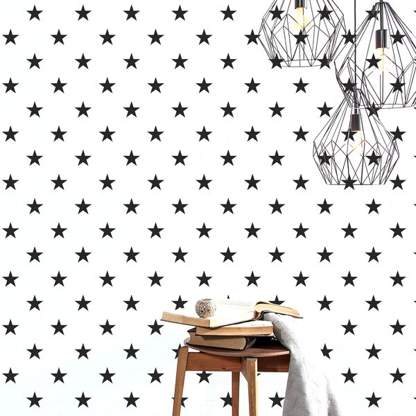 Gretchen Lucky Star Wall Sticker/Decal by Harriet Bee