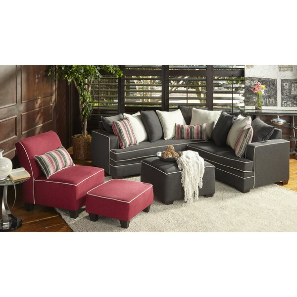 Hypnos Sectional by Flair