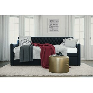 Monarch Hill Ambrosia Upholstered Daybed with Trundle