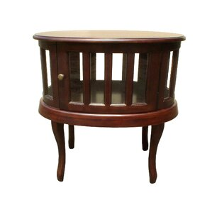 Oval End Table by D-Art Co..