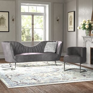 Creeves 2 Piece Standard Living Room Set by Kelly Clarkson Home
