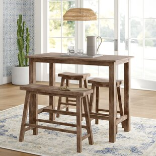 Raymundo 4 Piece Pub Table Set