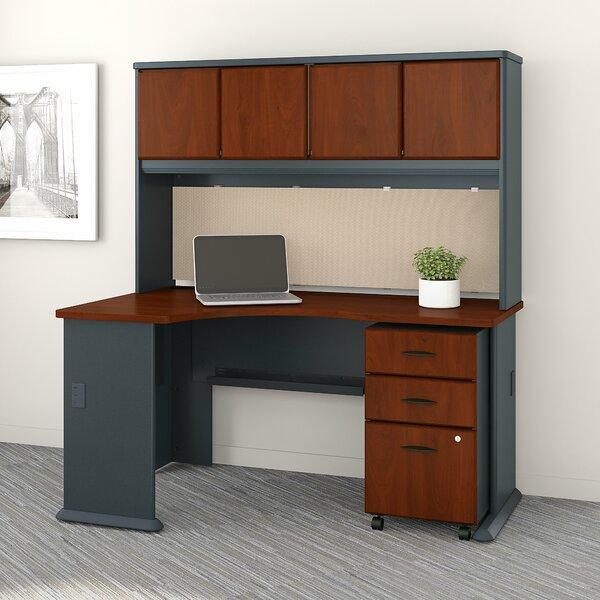 Series A Left Corner 3 Piece L-Shape Desk Office Suite by Bush Business Furniture
