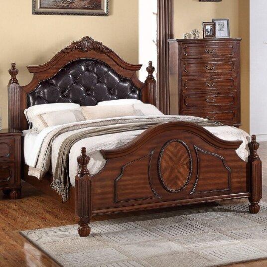 Dunton Upholstered Platform Bed by A&J Homes Studio