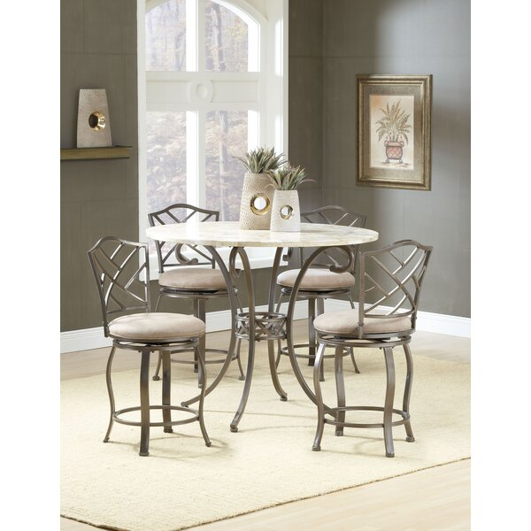 Boundary Bay 5 Piece Pub Table Set by Red Barrel Studio