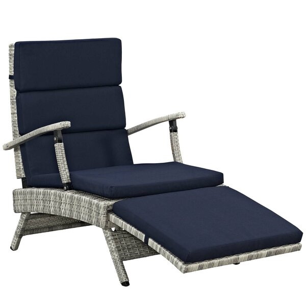 Vache Reclining Chaise Lounge with Cushion