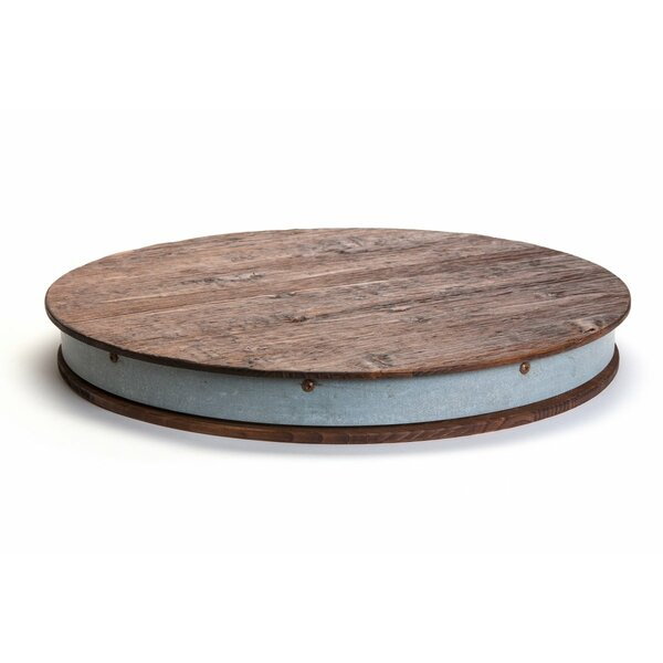 Wine Barrel Lazy Susan by etúHOME
