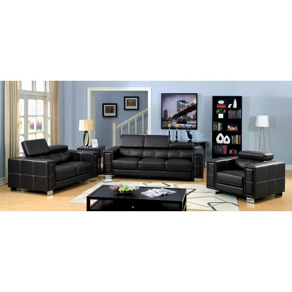 #1 Glenwill Configurable Living Room Set By Hokku Designs Savings