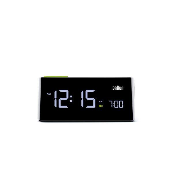 Electric Digital Alarm Clock by Braun