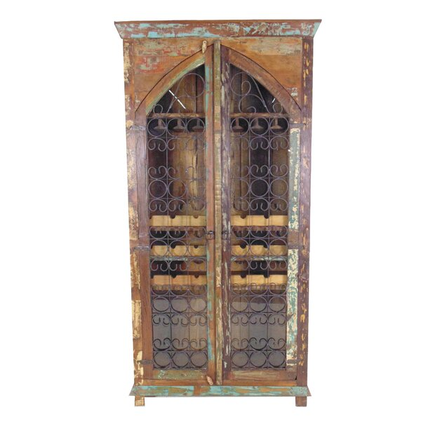 Mcdonnell 21 Bottle Floor Wine Cabinet by Bloomsbury Market Bloomsbury Market