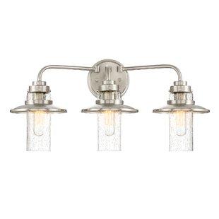 Bargain Quinault 3-Light Vanity Light By Breakwater Bay