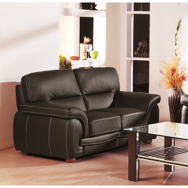 Great Value Leather Loveseat Shopping Special